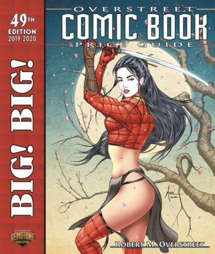 BIG! BIG! OVERSTREET 2019-2020 COMIC BOOK PRICE GUIDE #49 SIGNED by Billy Tucci