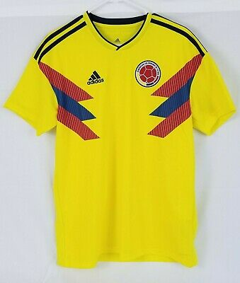 82fd61756 NWT ADIDAS 2018 Colombia Home Soccer Jersey. Size: Large. (CW1526)