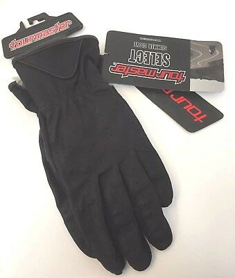 Tourmaster Select Summer Motorcycle Glove Goatskin Leather Riding Gloves - Select Summer Motorcycle Gloves