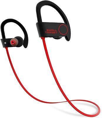 Bluetooth Headphones, Small Target Best Wireless Sport Earphones w/Mic IPX7