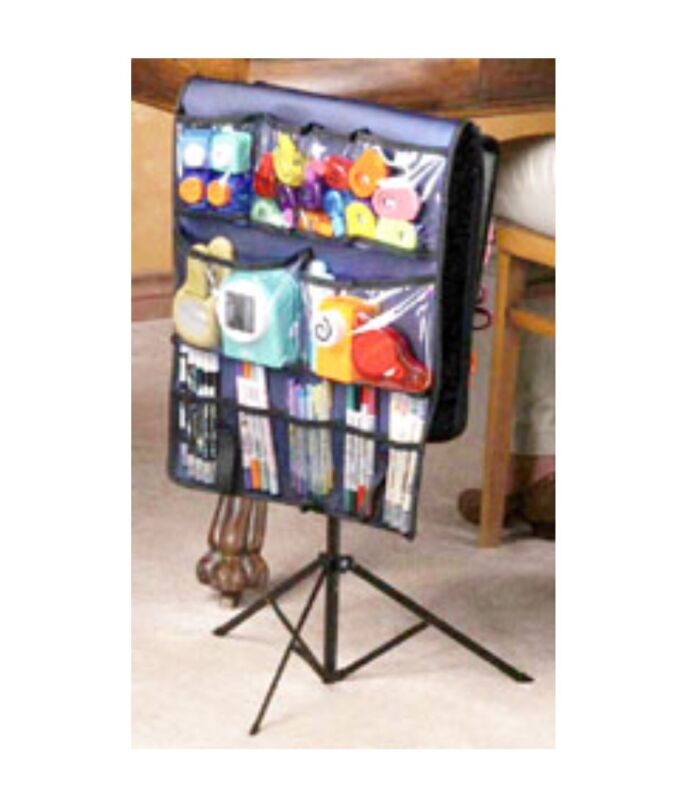 Scrap 'N Stor Caryall Scrapbooking Hanging Stand Up Carry Organizer Brand NEW!