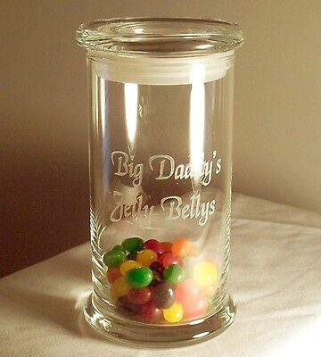 Personalized Glass Candy,cookie Jar. Wedding Birthday Christmas Gift