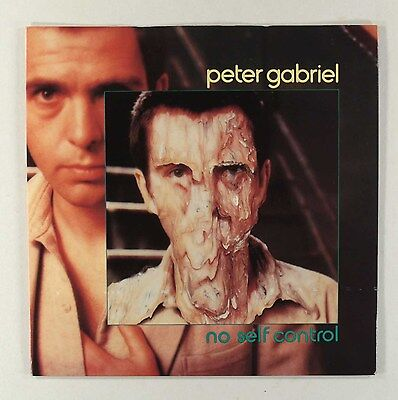 PETER GABRIEL - NO SELF CONTROL (UK PICTURE SLEEVE ) EXCELLENT VINYL & COVER