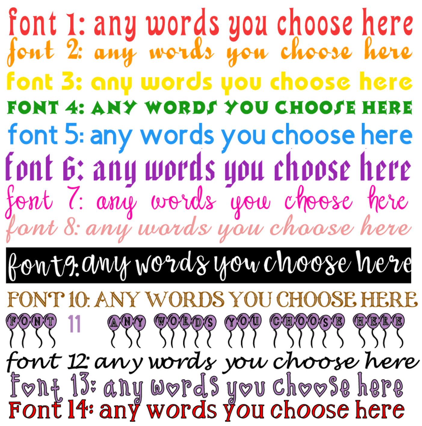 Custom Personalised Name Word Text Cut Vinyl Decal Fancy Font Sticker Gift Hinch