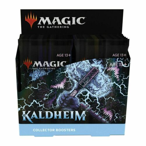 Mtg Magic The Gathering Kaldheim Collector Booster Box Factory Sealed In Stock