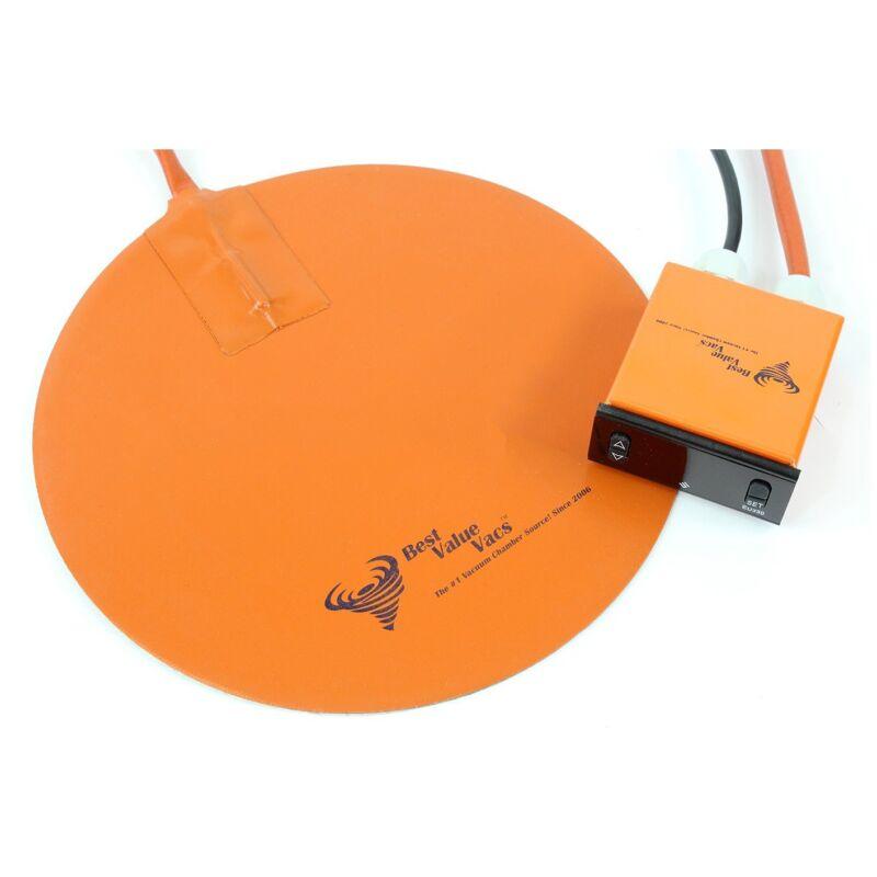 "10"" Vacuum Chamber Digital Heat Pad"