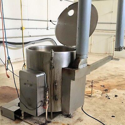 Vulcan-hart Gl60e Free Standing Steam Jacketed 60 Gallon Stainless Kettle