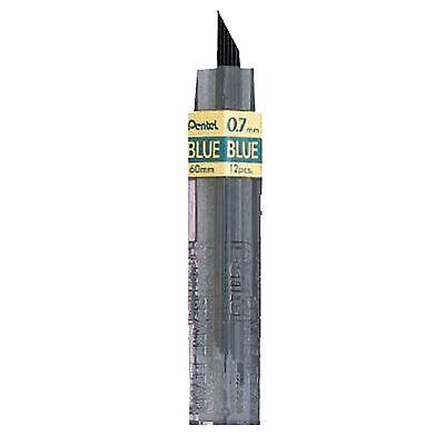 Pentel Colored Lead 0.7mm Blue 12 Leads Pentel Ppb-7blu
