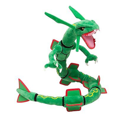 "US Kids Toy Pokemon Center Japan 31"" Rayquaza Stuffed Plush Doll Children Gifts"