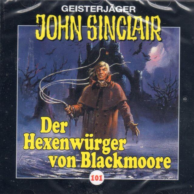 JOHN SINCLAIR - Teil 101 Der Hexenwürger von Blackmoore AUDIO CD - NEU OVP