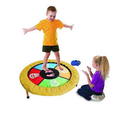 Mini Dancing Trampolin interactivo musical infantil para saltar y bailar niños
