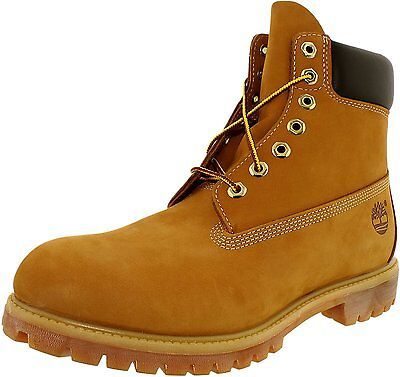 Timberland Men\s 6 Inch Premium Boot Leather Ankle High Leather Boot