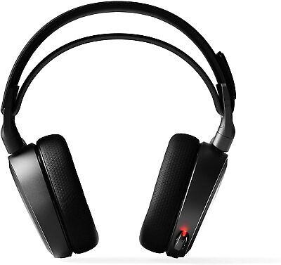 SteelSeries Arctis 7 61505 Wireless Headset - Black Certified Refurbished