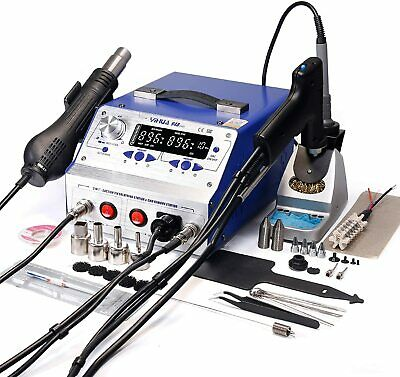 Yihua 948-ii 4 In 1 Hot Air Rework Soldering Iron And Desoldering Suction Tin