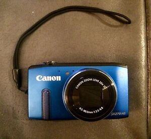 Brand New Never Been Used Blue Canon PowerShot Camera