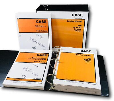 Case 33 Backhoe 450 Crawler Loader Dozer 207 Diesel Engine Service Parts Manual