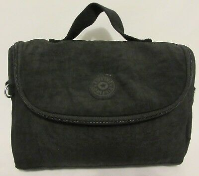 Kipling Black Lunch Bag Sack Travel School Work Office