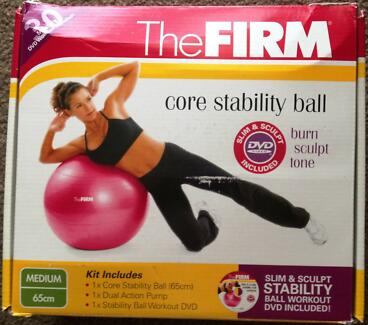 The Firm Core Stability Ball Bonython Tuggeranong Preview