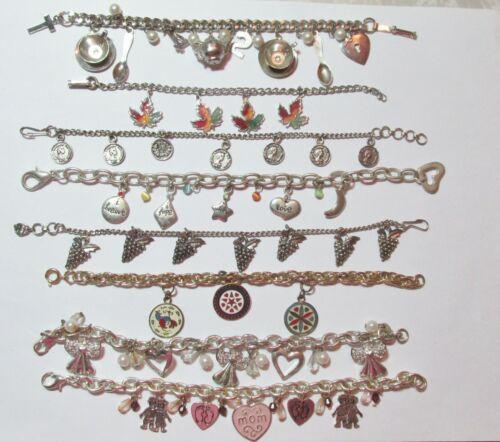 Vintage to Now Lot All Charm Bracelets