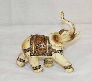 NEW AFRICAN ASIAN LUCKY ELEPHANT DECORATIVE STATUE FIGURE BEAUTIFUL TRUNK UP
