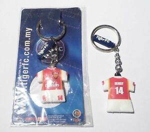 ARSENAL-Key-Chain-THIERY-HENRY-Ring-TIGER-BEER-MALAYSIA-2006-Champions-League
