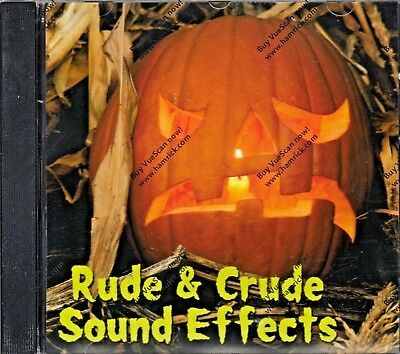 RUDE & CRUDE SOUND EFFECTS: 97 CREEPY FUNNY ADULT HALLOWEEN HAUNTED PARTY - Creepy Halloween Party Music
