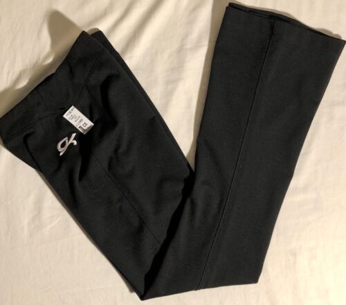 GK ELITE BALANCE FITTED WARM UP PANTS CHILD SMALL BLACK ATHLETIC PANTS CS NWT!