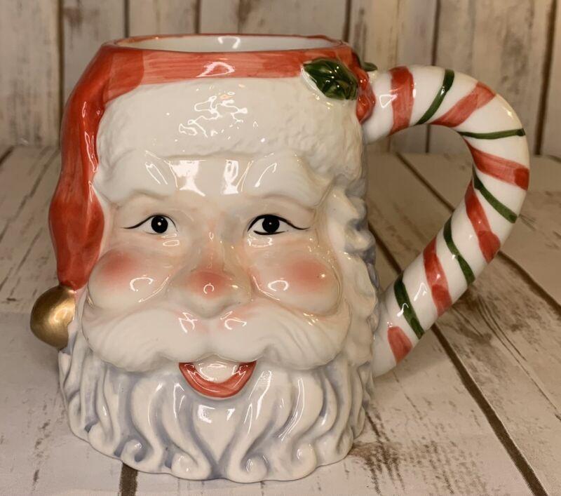 Vintage Santa Claus Mug Coffee Cup Christmas Decoration
