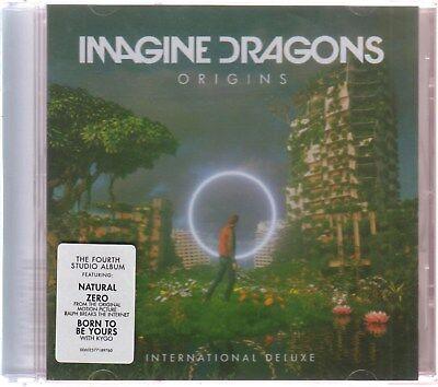 NEW - Imagine Dragons CD ORIGINS International Deluxe Edition  USA SHIPPING!