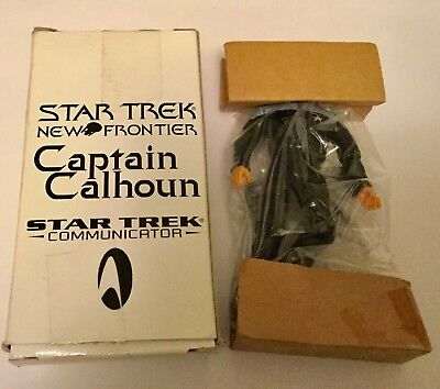 Star Trek Classic New Frontier Movie Captain Calhoun Mail Away New In Box