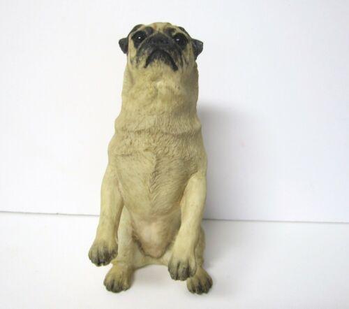 Begging Pug Figurine