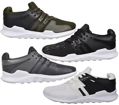 Mens Lace up Trainers Padded Walking Sports Running Gym Casual Sneakers Shoes