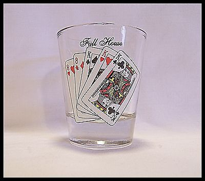 Shot Glass Aqua Caliente Casino Resort Spa Palm Springs California Full House104