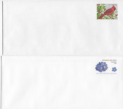 11 Modern US Envelopes Size 23 U684 to Date. With one seal each.
