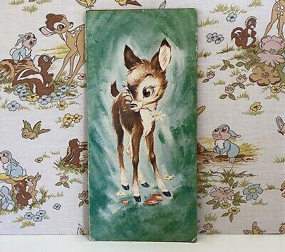 Vintage Kitsch Deer Print