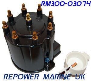 Distributor-Cap-Rotor-Delco-EST-V8-Volvo-Penta-Mercruiser-EFI-3854548