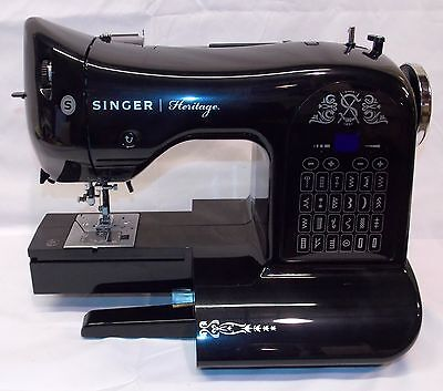 New Singer 8768 Heritage Electronic Auto Thread 24 Stitch   Sewing Machine Only