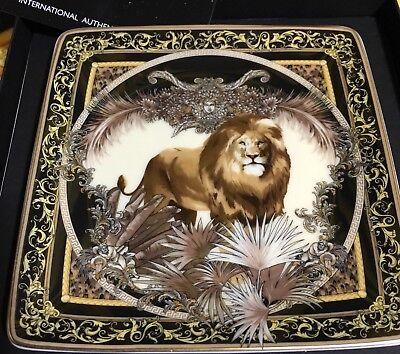 VERSACE TRAY PLATE LION Medusa Rosenthal NEW BIRTHDAY GIFT IDEA Christmas SALE
