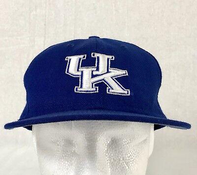 UK University Of Kentucky Wildcats New Era 59Fifty Cap Hat Adult Size 7 1/8 USA