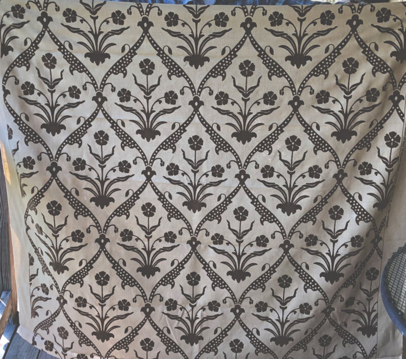 Angelica Trellis David & Ashely Hicks for Groundworks Upholstery Fabric 2004 3y