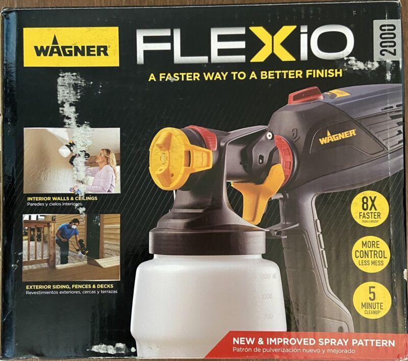 Wagner Flexio 2000 HVLP Paint Sprayer - Used