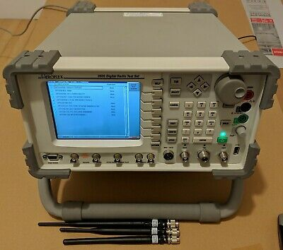 Aeroflex 3920 Digital Radio Test Set W Opts 050 053 056 057 200 201 202 216 220
