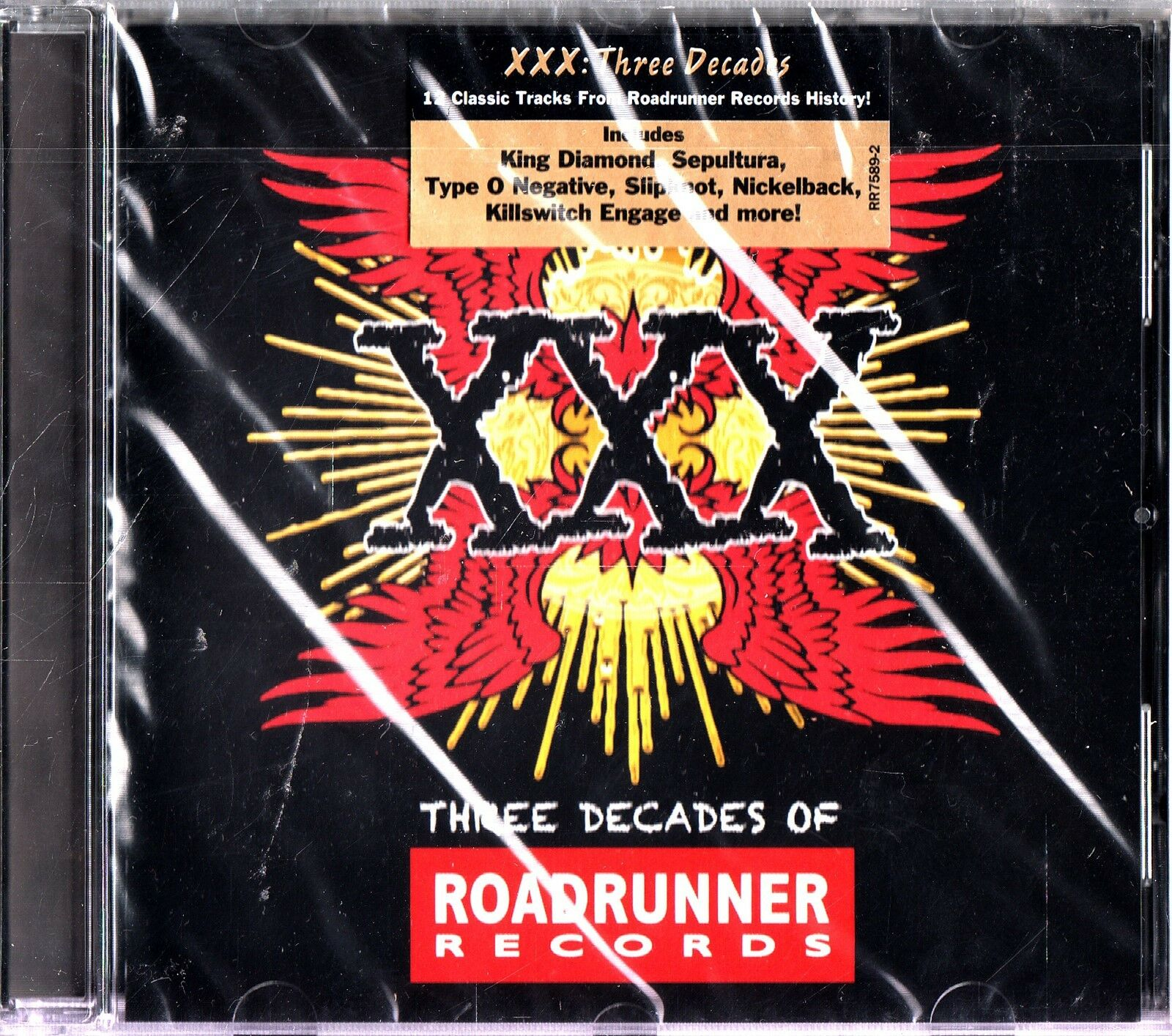 ROADRUNNER RECORDS The Best of 3 Decades CD NEW Sepultura ...