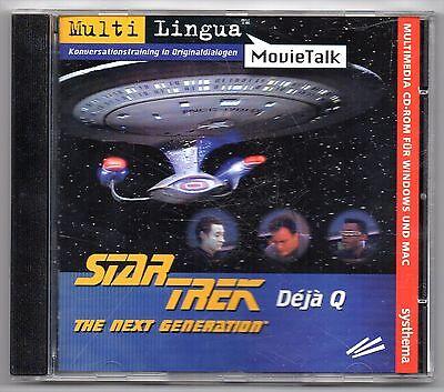 Multi Lingua - MovieTalk - Konversationstraining (Star Trek - Deja Q) gebraucht kaufen  Anröchte