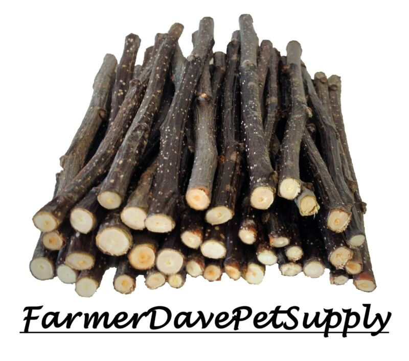 FarmerDavePetSupply 40 APPLE THIN CHEW STICKS Rabbit,Guinea Pig,Chinchilla