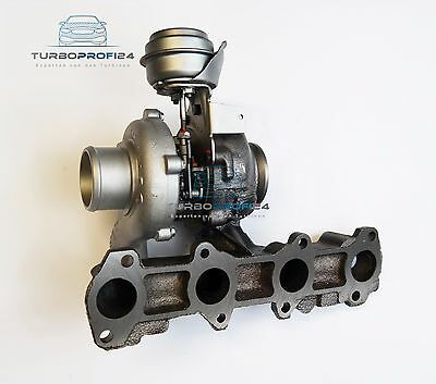 Turbolader Garrett120PS Opel Zafira 1.9 CDTI 88 KW/120 PS 755042 740080 752814
