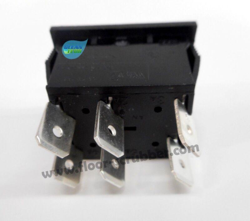 Tennant Nobles Brush Deck Up Down Rocker Switch, 1007012 SS5 T5e