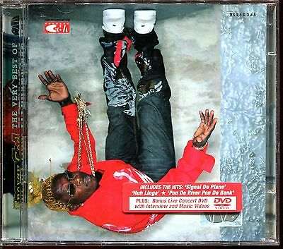 ELEPHANT MAN - ENERGY GOD - THE VERY BEST OF - DVD LIVE CONCERT + CD