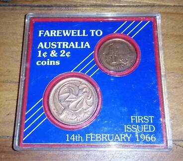 Farewell to Australia 1c and 2c Coins