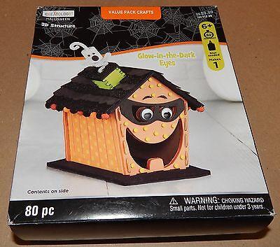 Halloween Kids Craft Kit 3D Structure Value Pack Creatology 80pc Pumpkin - Creatology Halloween Kids Craft
